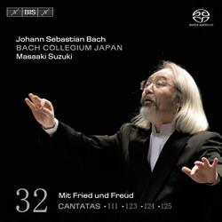 J.S. Bach - Cantatas, Vol.32 (BWV 111, 123, 124 and 125)