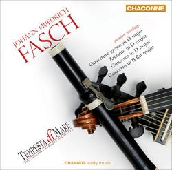 Fasch: Orchestral Works, Vol. 1