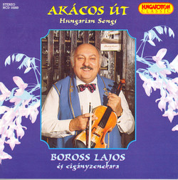 Hungarian Songs As Performed by Lajos Boross and His Gypsy Band