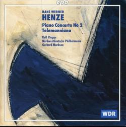 Henze: Piano Concerto No. 2 - Telemanniana