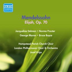 Mendelssohn: Elijah (1954)