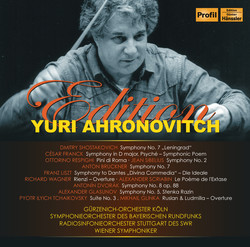 Yuri Ahronovitch Edition