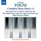 Togni: Complete Piano Music, Vol. 4