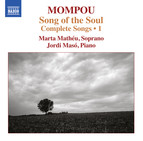Mompou: Complete Songs, Vol. 1