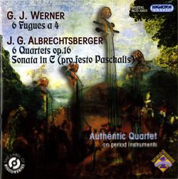 Fugues for String Quartet