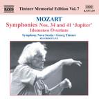 Mozart: Symphonies Nos. 34 and 41