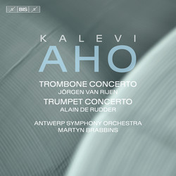 Aho – Concertos for Trombone and Trumpet