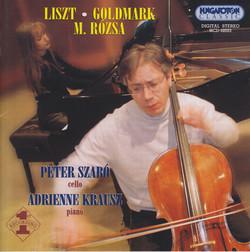 Rozsa: Duo for Cello and Piano / Goldmark: Cello Sonata, Op. 39 / Liszt: Consolations