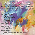 Cello America, Vol. 3 - Copland, A. / Creston, P. / Piatigorsky, G. / Slonimsky, N. / Luening, O. / Gershwin, G.