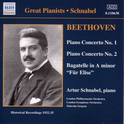 Beethoven: Piano Concertos Nos. 1 and 2 (Schnabel) (1932, 1935)