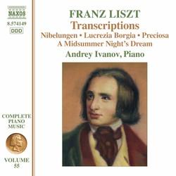 Liszt Complete Piano Music, Vol. 55: Transcriptions