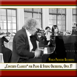 Franz Vorraber: Concerto classico for Piano & String Orchestra, Op. 37