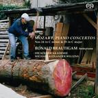 Mozart – Piano Concertos Nos. 24 and 25