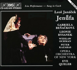 Janáček – Jenůfa (Opera in Three Acts)