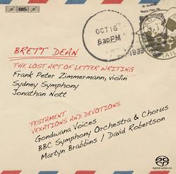 Brett Dean - The Lost Art of Letter Writing