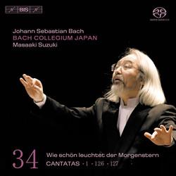 J.S. Bach - Cantatas, Vol.34 (BWV 1, 126, and 127)