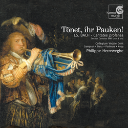 J.S. Bach: Cantates profanes