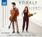 Kodály & Ligeti: Cello Works