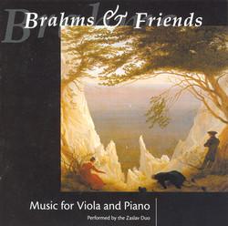 Brahms / Reinecke / Herzogenberg / Kiel / Fuchs / Sitt: Viola Works