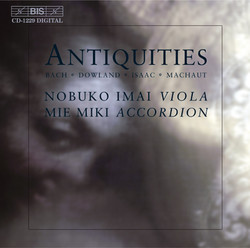 Antiquities - Music for viola and accordion