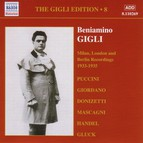 Gigli, Beniamino: Gigli Edition, Vol.  8: Milan, London and Berlin Recordings (1933-1935)