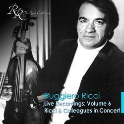 Violin Recital: Ricci, Ruggiero - Shostakovich, D. / Schubert, F. / Spohr, L.