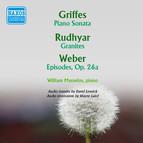 Griffes: Piano Sonata - Rudhyar: Granites - Weber: Episodes (1957)