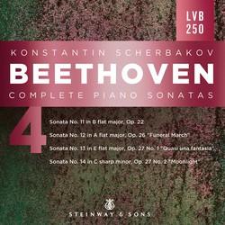 Beethoven: Complete Piano Sonatas, Vol. 4