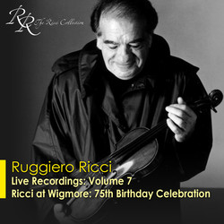 Violin Recital: Ricci, Ruggiero - Bach, J.S. / Beethoven, L. Van