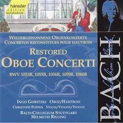 Bach - Restored Oboe Concerti