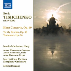 Tishchenko: Complete Works for Harp