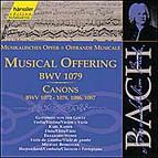 Johann Sebastian Bach - Musical Offering, Canons
