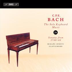 C.P.E. Bach: Solo Keyboard Music, Volume 24