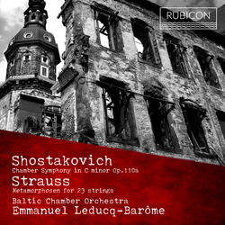 Shostakovich: Chamber Symphony, Op. 110a - Strauss: Metamorphosen for 23 Strings
