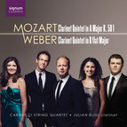 Mozart: Clarinet Quintet in Major, K. 581 - Weber: Clarinet Quintet in B-Flat Major