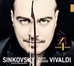 Sinkovsky Plays & Sings Vivaldi