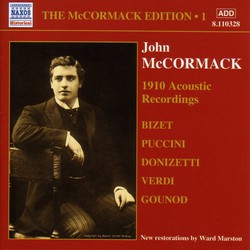 Mccormack, John: Mccormack Edition, Vol. 1: The Acoustic Recordings (1910)