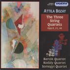Bozay: String Quartets Nos. 1-3