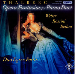 Thalberg: Opera Fantasias for Piano Duet
