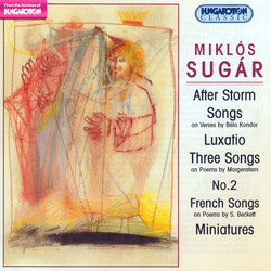 Sugar, M.: After Storm / Songs / 3 Songs / No. 2 / French Songs / Miniatures / Luxatio
