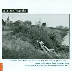 Saint-Saëns, C.: Fantaisie, Op. 124 / Suite, Op. 16 / Piano Quartet, Op. 41