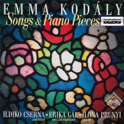 Kodaly, E.: Songs and Piano Pieces