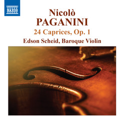 Paganini: 24 Caprices, Op. 1, MS 25