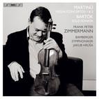 Martinů - Violin Concertos & Bartók - Sonata for Solo Violin