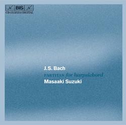 J.S. Bach - Partitas for harpsichord