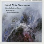 Zimmermann: Music for Cello and Piano