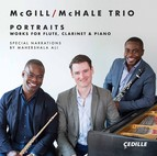 Portraits: Works for Flute, Clarinet & Piano