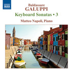 Galuppi: Keyboard Sonatas, Vol. 3