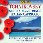 Tchaikovsky: Serenade for Strings / Capriccio Italien