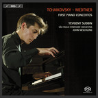 Tchaikovsky / Medtner - First Piano Concertos